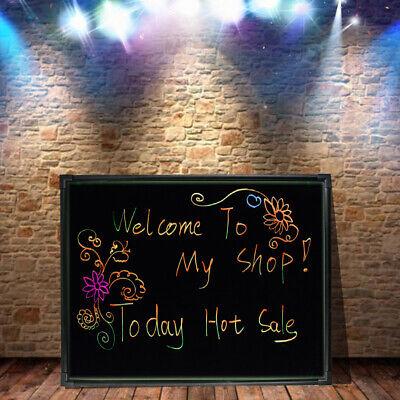 Led Writing Board Illuminated Erasable Glow Restaurant Menu Sign Chalkboard Usa