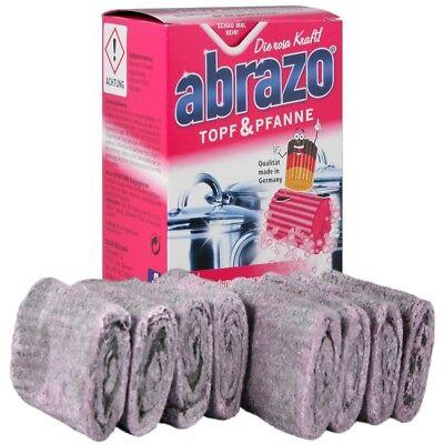 Abrazo Flip Topf und Pfanne - vollverseifte Reinigungskissen 8 Stück (Reinigung Topf)