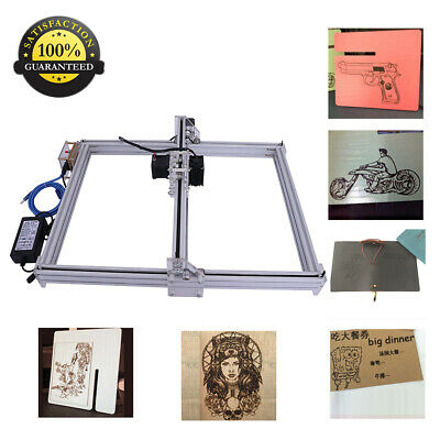 500mw Cnc Laser Engraver Kit Wood Carve Cut Machine Printer Logo Picture 40x50