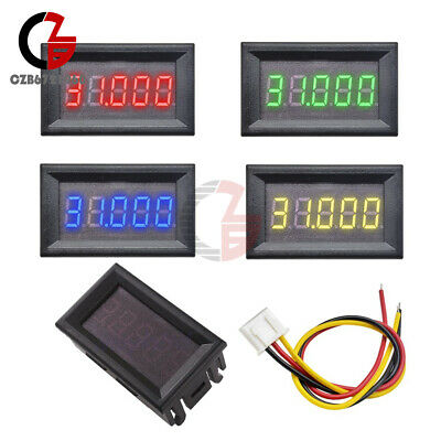 Digital 0.36 Led 5 Digits Dc 0-33.000v Voltmeter Voltage Meter Car Panel