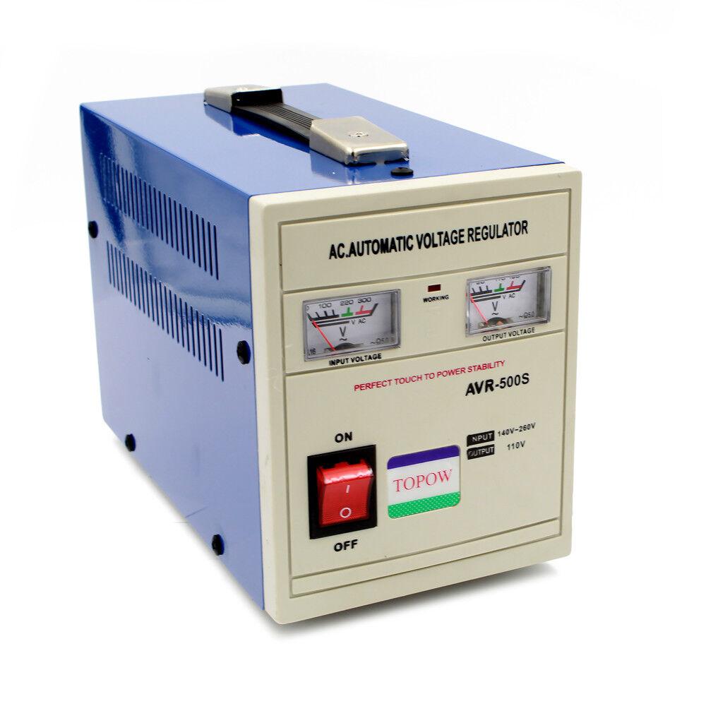 500 Watt Step Down 220 to 110 Power Voltage Converter Transf