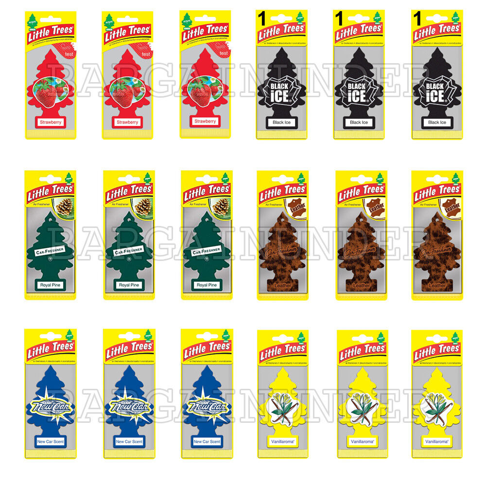 Little Trees Car Home Office Hanging Air Freshener Pick Your
