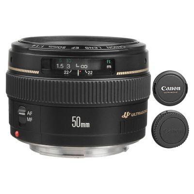 Canon EF 50mm f/1.4 USM Lens for T6S 80D 70D 6D 5DS R 5D III IV 7D Mark II