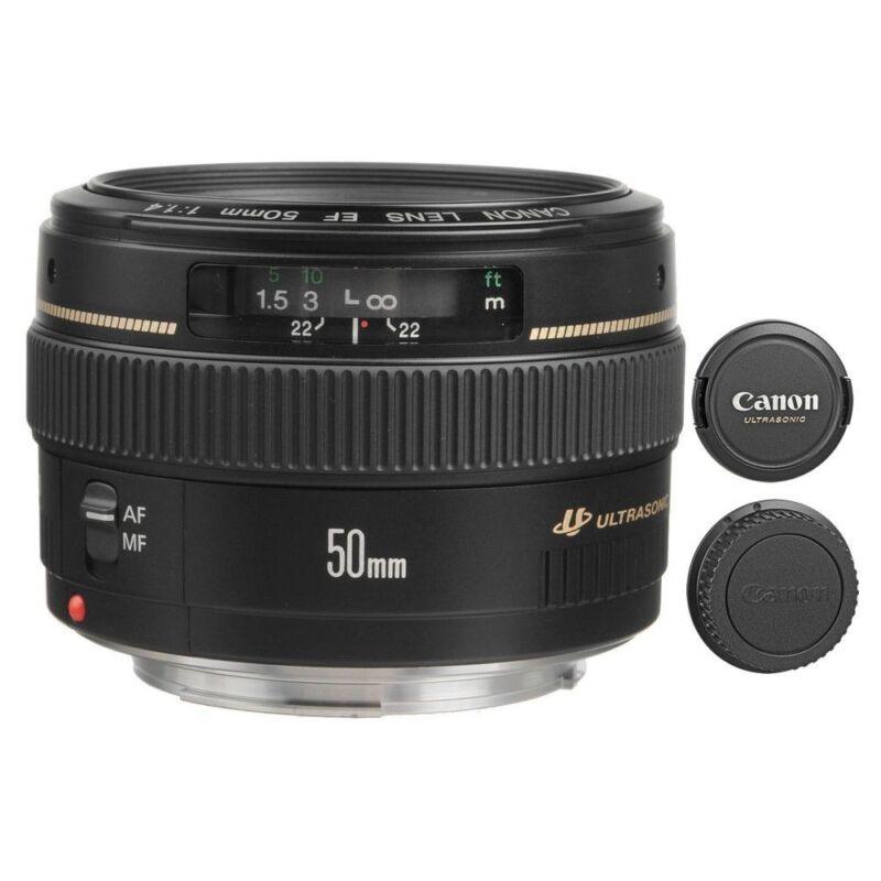 Canon EF 50mm f/1.4 USM Standard Lens Black 2515A003
