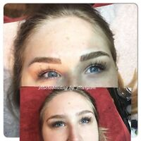 Microblading eyebrows (&50 off of regular price)