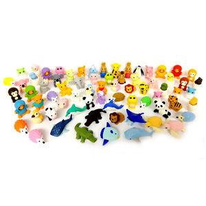 Iwako Erasers Animal Overstock (Pack of 20)
