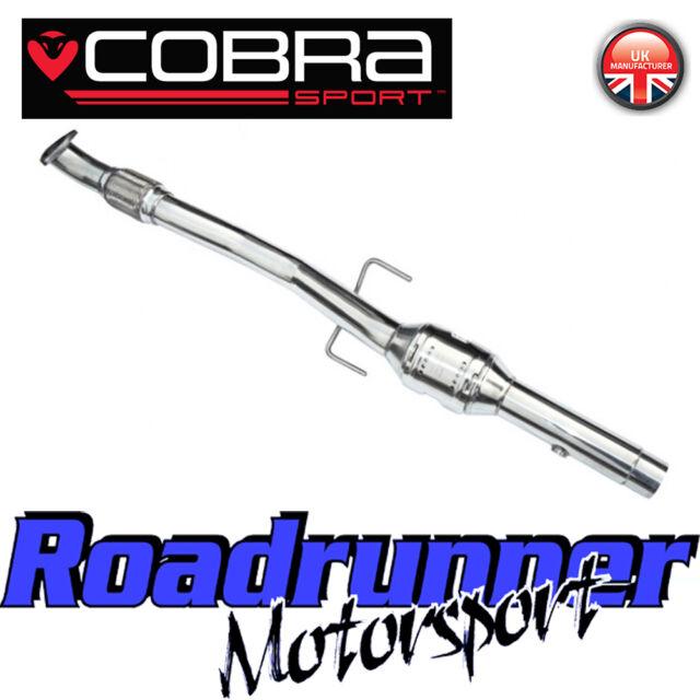"""VX12b Cobra Sport Corsa D SRi Sports Cat 2.5"""" Stainless Exhaust 200 Cell (07-09)"""