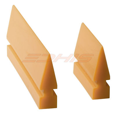 24 Rubber Turbo Squeegee Blade Yellow Auto Window Tint Film Wrapping Tool Diy
