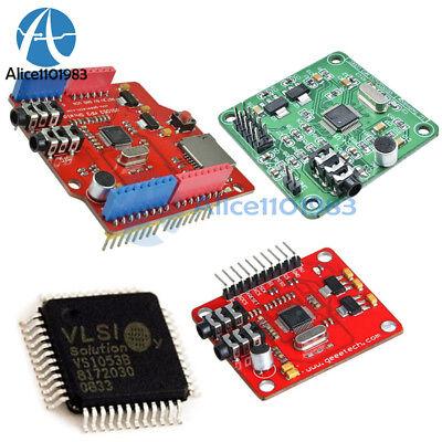Ic Vs1053b Vs1053 Mp3 Music Shield Board Module Tf Sd Card Slot Arduino Uno R3