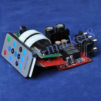 PGA2311 Volume Remote Control Preamplifier Kit + LCD