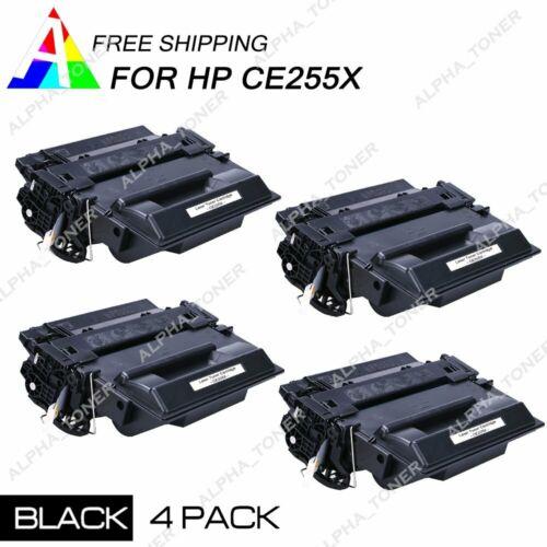 5 Pack CE255X 55X Toner For HP LaserJet Enterprise P3015d P3015n P3015dn P3015x