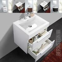 Bernstein Mobili Da Bagno Set 60cm Lavandino E Base Bianco/nero Oppure Noce - mobil - ebay.it