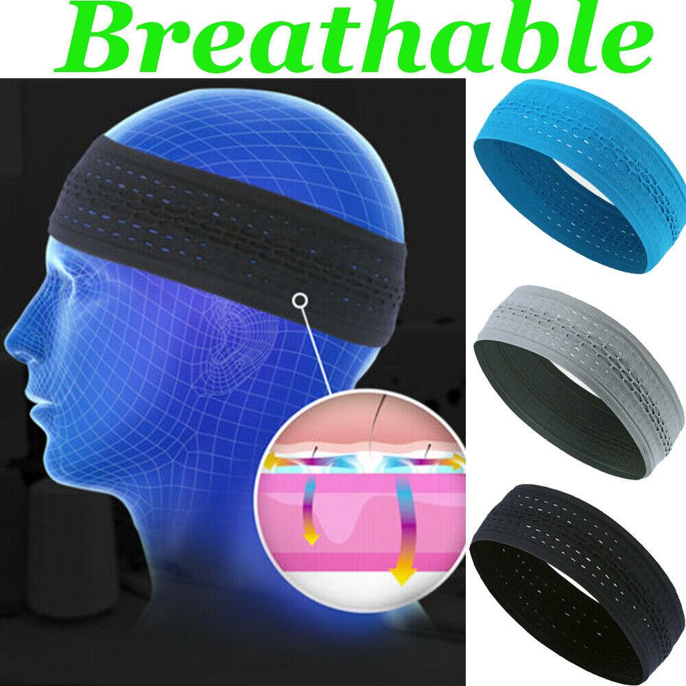 Fashion Sweat Sweatband Sport Yoga Running Elastic Headband
