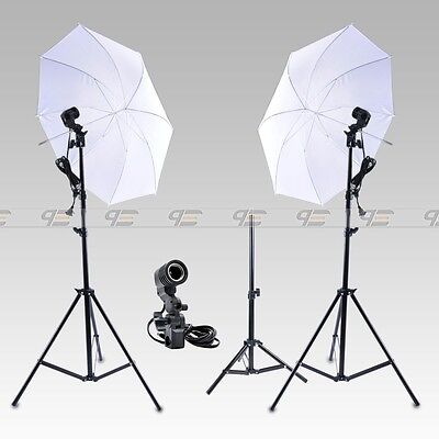New Continuous Lighting Kit Lamp Umbrella E27 Bulb Light Stand for Photo Studio