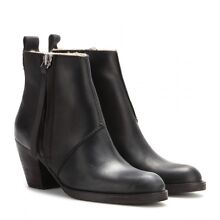 ACNE Studios Pistol Short Sherling lined leather boots size 36 Hunters Hill Hunters Hill Area Preview