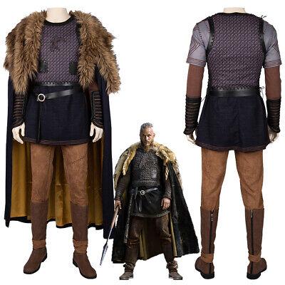 Ragnar Lothbrok Costume Cosplay Suit Vikings