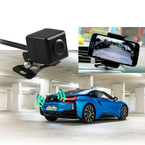 Wifi in Car Backup Rear View Reversing Camera 1/3 Wireless For IOS iPhone Andro