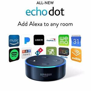 Amazon Echo Dot aka Alexa (Latest 2nd Gen) - Brand NEW in BLACK Canning Vale Canning Area Preview