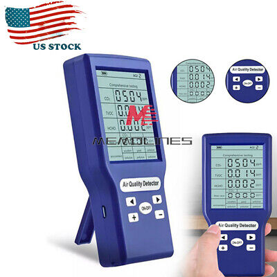 Portable Co2tvochcho Detector Ppm Meters Gas Analyzer Air Quality Tester