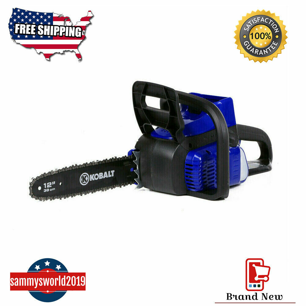 Kobalt 40-volt Lithium Ion 12-in Cordless Electric Chainsaw