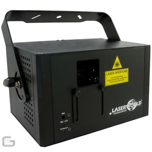 Laserworld CS-1000 MKII 1000mW RGB Full Colour Professional DJ Club ILDA Laser
