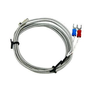 K-Thermocouple-Temperature-K-Sensor-1-4-Head-2M