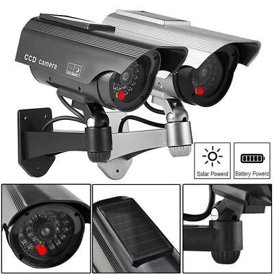 BEST SELLING Solar Powered Dummy Surveillance Security Camera CCTV LED (Best Dummy Cameras)