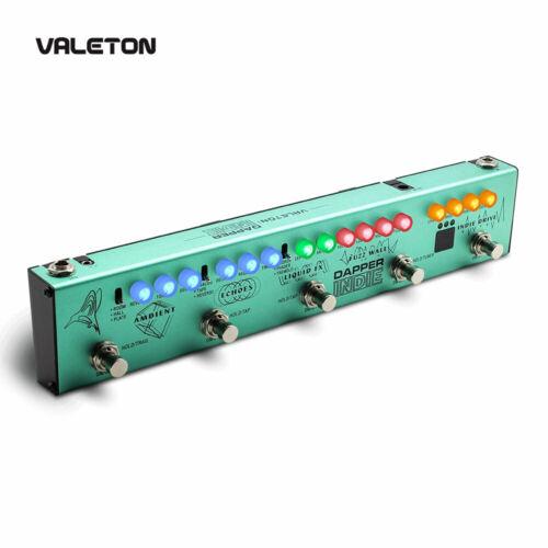 Valeton Guitar Multi Effects Pedal Distortion Reverb Delay Chorus Dapper INDIE