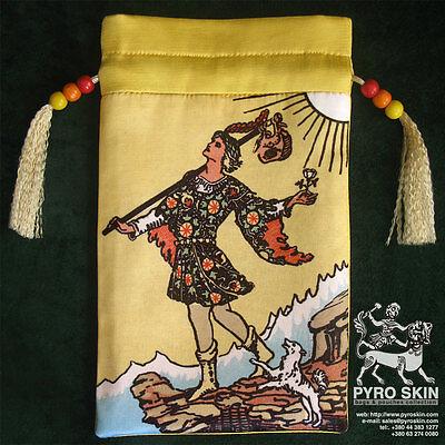 """The Journey"" - silk Tarot bag"