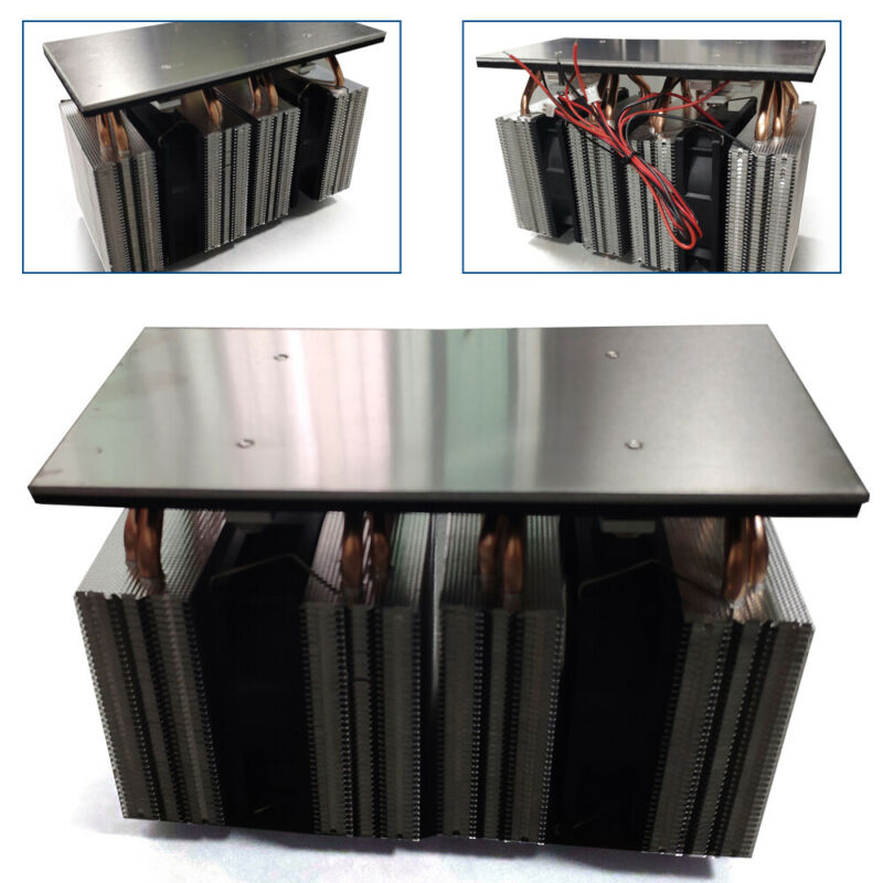 Semiconductor Refrigeration Cooler DIY 3-Chip Pet 200*100MM Cooling Board 240W