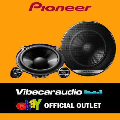 Pioneer TS-G130C - 13cm 2-Way Car Components Speakers 500W Total Power
