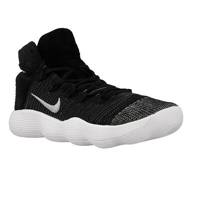 Nike Hyperdunk Flyknit 2017 Men Shoes Black Silver 917726 001 Size 8.5 13 14