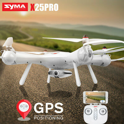 SYMA X25PRO GPS RC Drone Quadcopter Follow Me FPV Wifi Camera Selfie Support VR