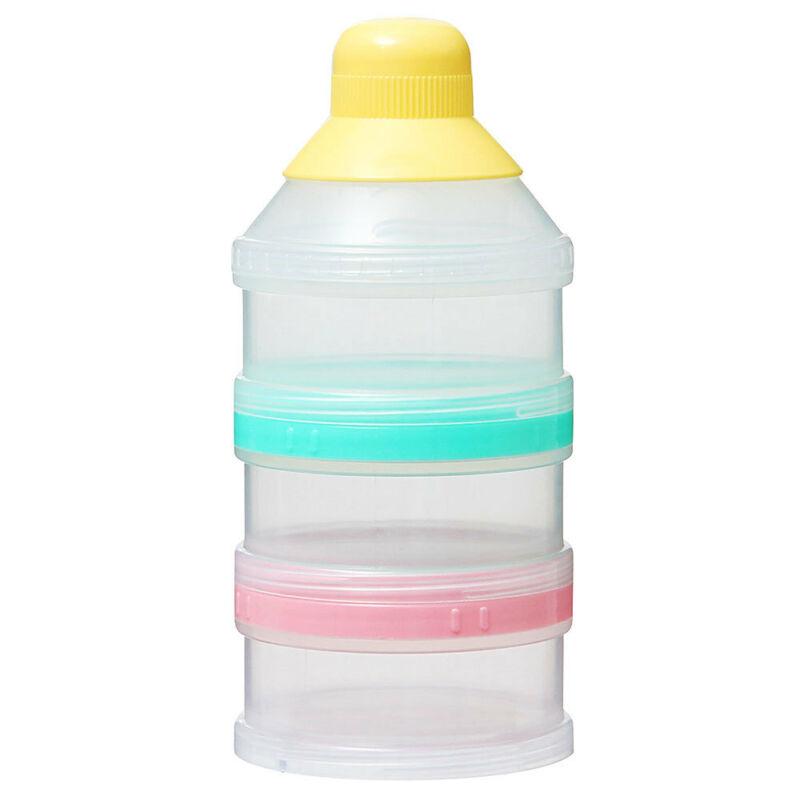 Pigeon 3 Tier Powder Milk/Baby Formula Container/Storage f Bottle/Protein Shaker