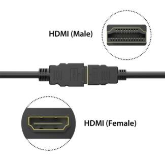 FREE SHIPPING - Simplecom CAH310 1.0M High Speed HDMI Extension C