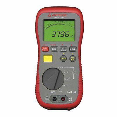 4000 Megohm Digital Lcd Display Electrical Insulation Resistance Tester...
