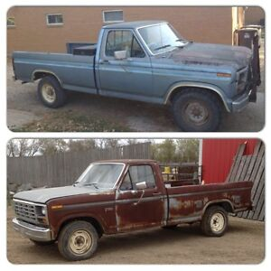 2 Ford trucks for sale! Price reduced