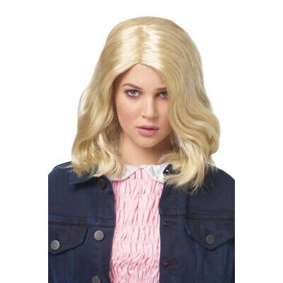 Elf Blonde Perücke Stranger Things Erwachsene Damen Kostüm - Jane Blond Kostüm