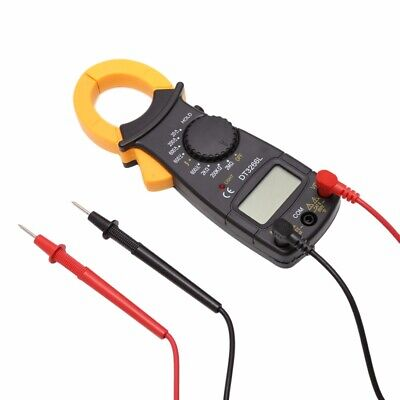 Digital Clamp Meter Multimeter Handheld Rms Acdc Mini Frequency Ohm Temp