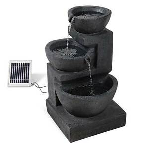Solar Fountain with LED Lights North Melbourne Melbourne City Preview