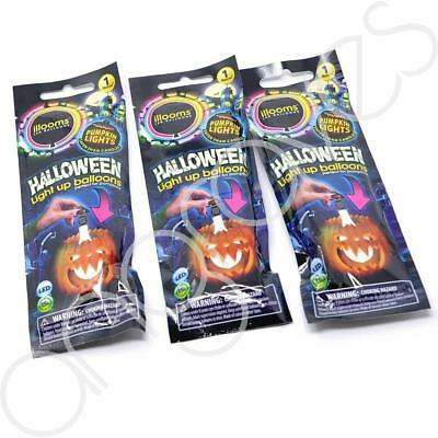 Set of 3 illoom Balloons Light Up Your Halloween Pumpkin Safer Than Using Candle