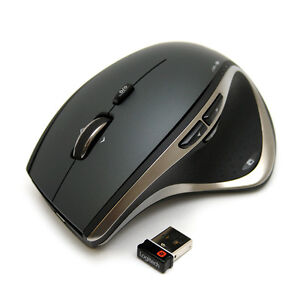 Logitech Performance Mouse MX Cordless Laser Mouse Rechargeable