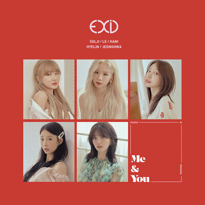 EXID - WE CD+80p Photobook+Standing Doll+1Photocard+Poster+Tracking no.