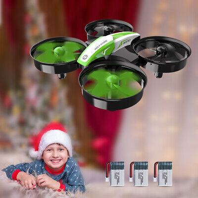Holy Stone HS210 Mini RC Drone for kids beginners 3 battery A+ gift auto hover
