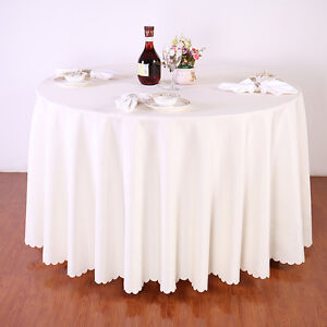 Round Banquet Table Cloth Ebay