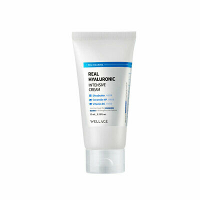 [WELLAGE] Real Hyaluronic Intensive Cream - 75ml / Free Gift