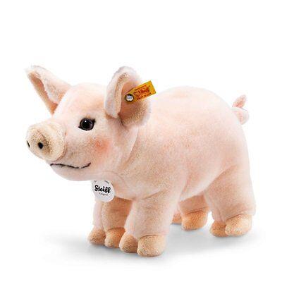 Steiff Schwein Piggy 30cm rosa stehend Kuscheltier 30°C pig 30 Geschenk 071904