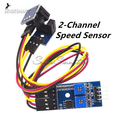 2-channel Speed Detection Optical Motor Sensor Lm393 Coupler Counting Module