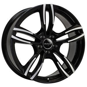 WHEELWORLD-wh29-8-5x19-5x120-ET35-nero-lucidato-CERCHI-ALLUMINIO-BMW-SERIE-3-4-5