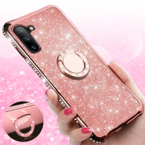 For Samsung Galaxy Note10/10 Plus Bling Diamond Ring Holder